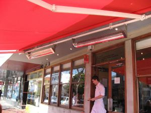 Heater's Under Awning