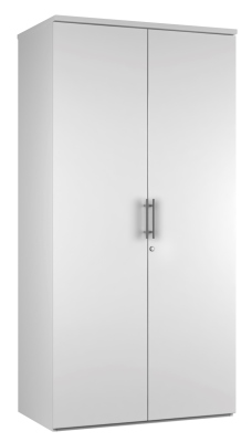 2 DOOR STORAGE UNIT DD19 - White V2 (FLAT)