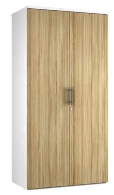 2 DOOR STORAGE UNIT DD19 - Light Wood Grain V2 (FLAT)
