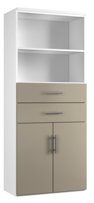 Combinantion Cupboard Variant 3 - Stone (FLAT)