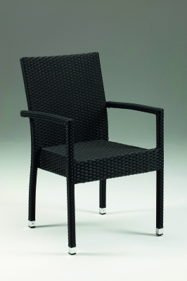 Ashton Armchair Black 1004-0201