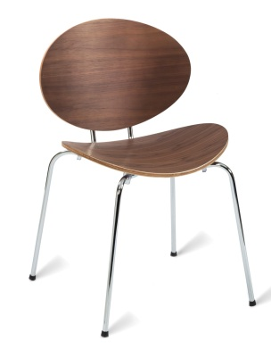 331506 Saxon Side Chair Am Walnut