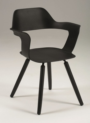 Tara Armchair Black 1007-0601
