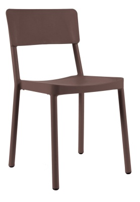 333153 Jackie Side Chair - Chocolate