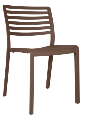 333173 Sophie Side Chair - Chocolate