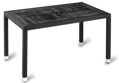 343061Geneva No Wood Top Table - Rectangular