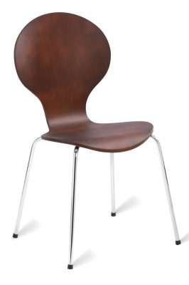 331249 Mile Side Chair - Wenge