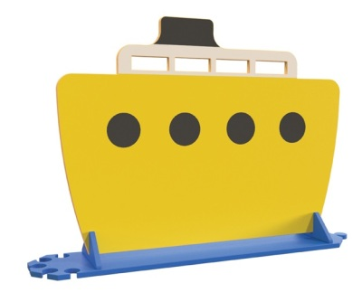 YBRD004 Yellow Boat