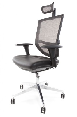 EVE Black Leather Seat With HR 3 QTR - Copy