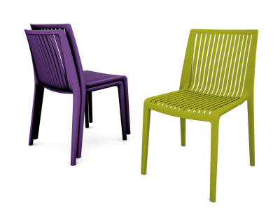 Splash Chair Purple Green Frovi 1