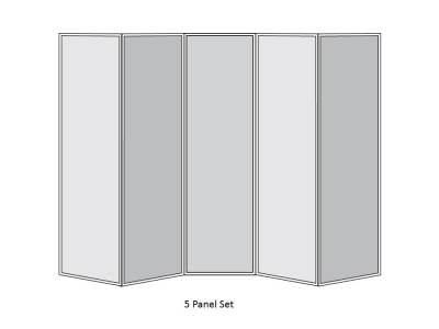 5 Panel Set
