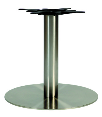 Horizon Round Coffee Column - SS