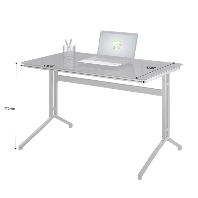 Splice Desk - Dimensions