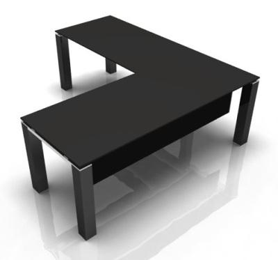Evo Jet Glass Black 2000mm