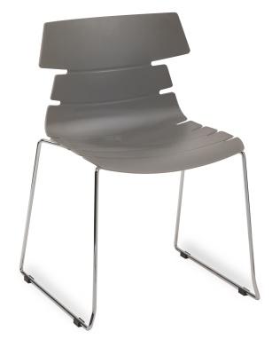 Hoxton Side Chair Frame B 360001 Grey