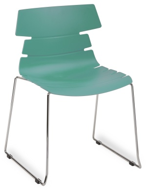 Hoxton Side Chair Frame B 360001 Turquise