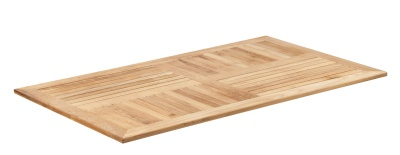 343236 Teak RC120 Teak Table Top
