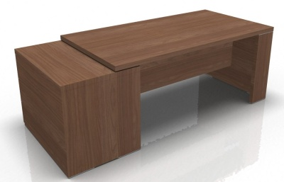 Executive Office Desks With Pedestal Odessa 2100mm X 900mm Online Reality