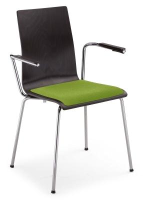 CAFE VII ARM Seat Plus Chrome YN200