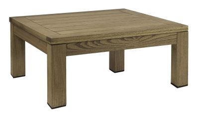 Quad Square Coffee Table Darkened