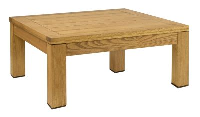Quad Square Coffee Table, Oiled Finish