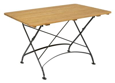 Parade-folding-rectang-table,-1200-x-800-mm,-oiled---black-compressor
