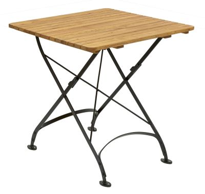 Parade-folding-square-table-600-x-600,-oiled---black-compressor