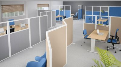 Office Space Acoustic Screens