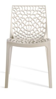 White Designer Poly Chair