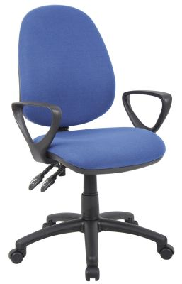 Cheap Blue Operators Chair With Arms