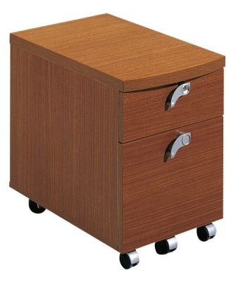 Washington Two Drawer Pedestal In A Rich Sycamore Finish