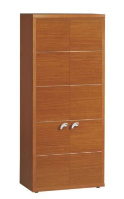 Washington Tall Cupboard In A Rich Sycamore Finish