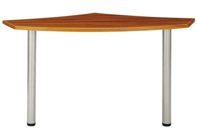 Santos Universal Desk Extension In A Rosewood Effect Finsh
