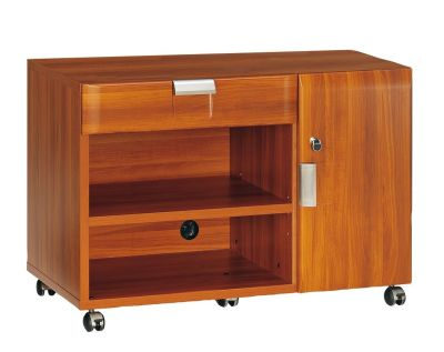 Santos Mobile Service Unit In A Rosewood Effect Finish