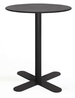 OXO All Metal Outdoor Dining Tables Bar Height Black