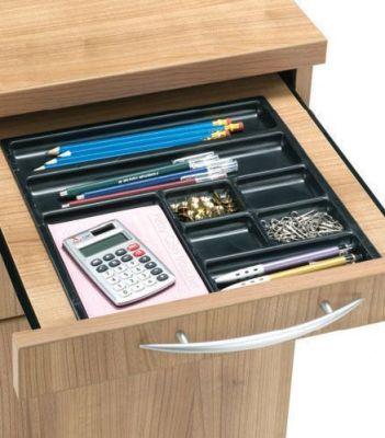E Space Desk Pedestal With Pen Tray