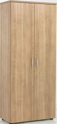 E Space Tall Wooden Office Storage Cupboard In A Rich MFC Finish