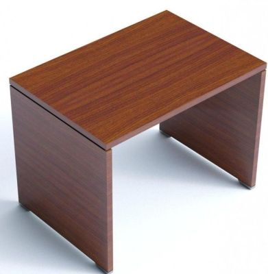 Caba Freestanding Desk Return In A Walnut Finish