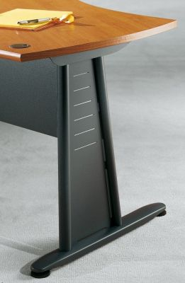 Designer Jazz Office Desk With Striking Metal Legs