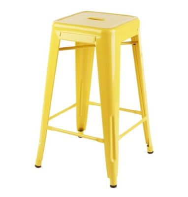 Xavier High Stool In Yellow