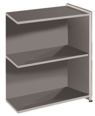 Artoline Low Extension Bookshelf In Anthracite Wide