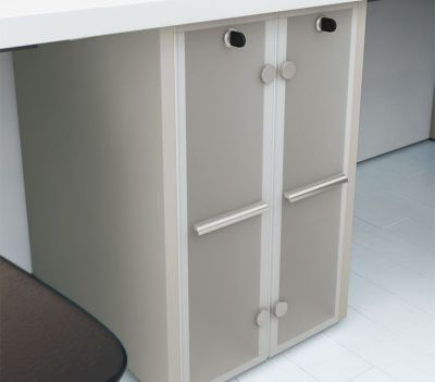 Supporting Cupboard Acrylic Doors