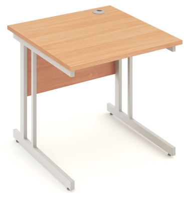 Mansfield 800mm Desk In Beech