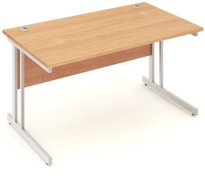 Mansfield 1400mm Desk In Beech