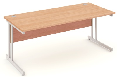 Mansfield 1800mm Desk In Beech