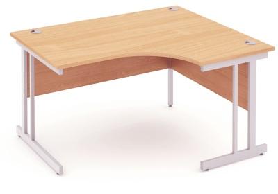 Mansfield 1400mm Righ Hand Corner Desk