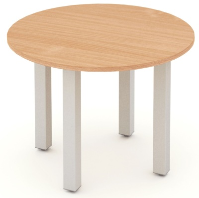 Mansfield 1000mm Round Meeting Table