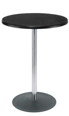 Lena Poseur Table With Round Base