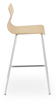 Evora Beech High Stool