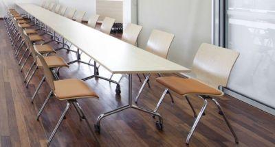 Tamar Long Flip Top Conference Table Arrangement